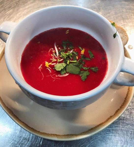 Rote-Beete-Kokossuppe (500g)